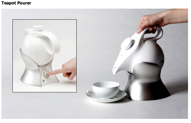 automatic tea pourer