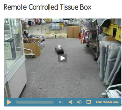 remote controlled tissue